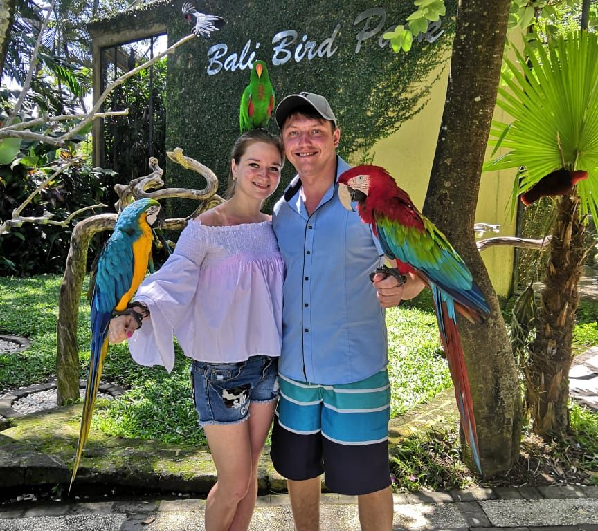 Ubud and bird park 27.01.2019