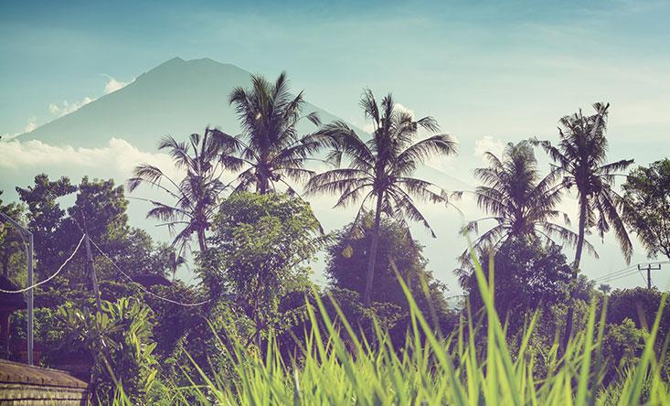 Гора Агунг Бали