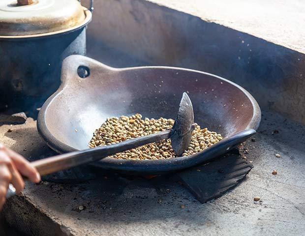 обжарка кофе на бали