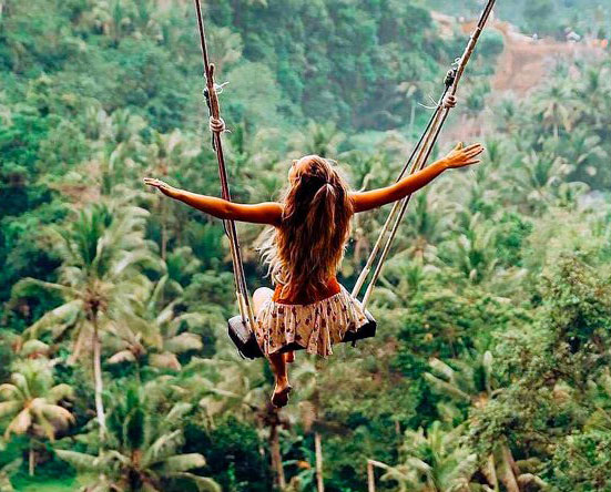Bali Swing in the Jungle