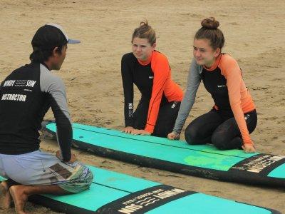 Школа серфинга Windy Sun на Бали с русскоязычным инструктором!