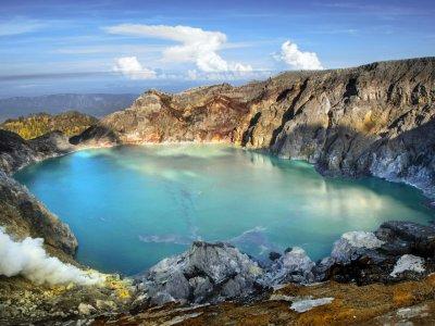 Экскурсия: Восхождение на вулкан Иджен Бромо на острове Ява с Бали