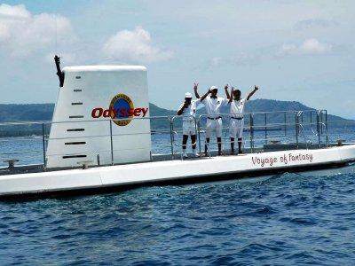 Dive in Bali Odyssey submarine