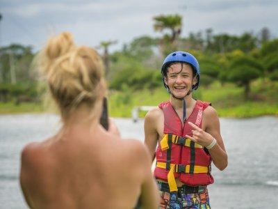 Wakeboarding in Bali
