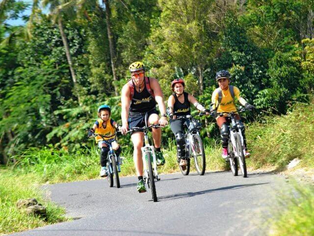 Cycling tours in Bali
