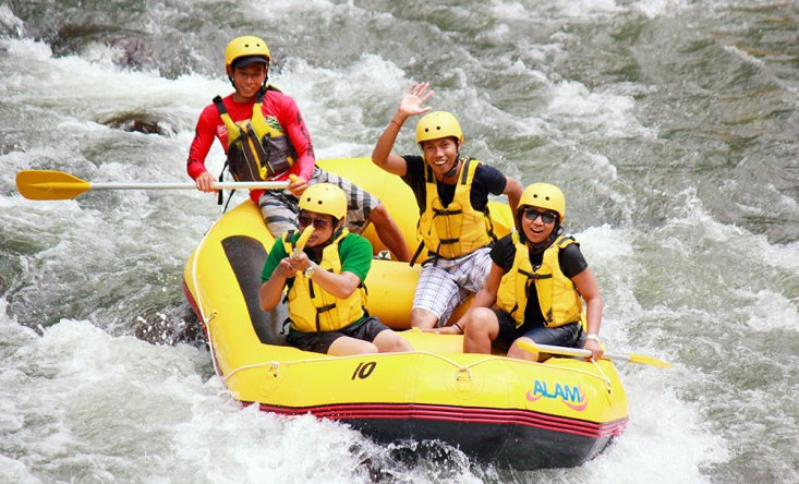 Rafting on Ayung and Telaga rivers